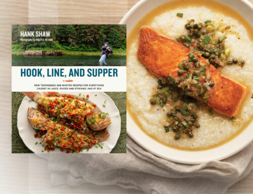 Well-known author's new cookbook inspired by his Alabama fishing trips